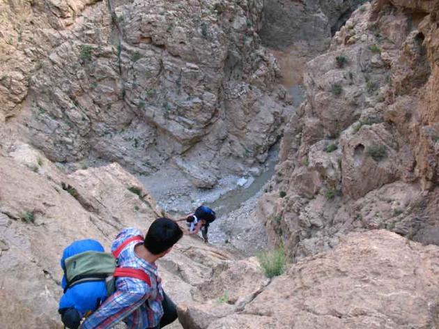 کوهنوردی در کوه های جوپار
